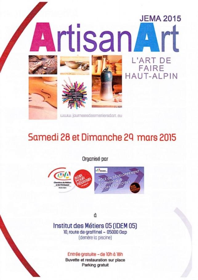 Journées européennes des métiers d'art 2015